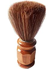 Foreign Holics Wooden Handle Smooth and Soft Bristle Shaving Brush For Men & Boys