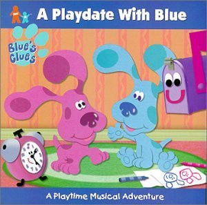 Playdate With Blue by Blue's Clues (2000-03-14) (Blues Clues 3)
