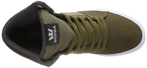 oliva Vert Zapatillas Homme Deporte Supra Aluminio Bajos De Blanco n6AwqR6Y0