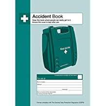 Safety First Aid Group A4 Accident Reporting Book - Data Protection Compliant (53 Forms)
