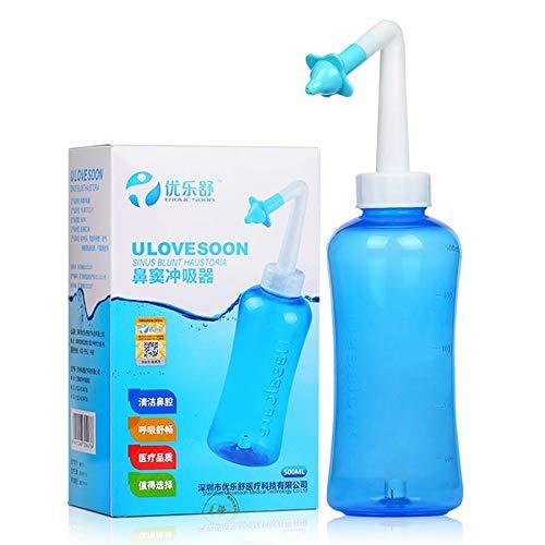 500 ml Kapazität Sinus Allergien Nasaldruck Neti Nase Gesundheitswesen Nasal Wash preisvergleich