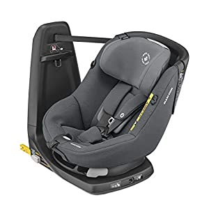 Maxi-Cosi Axissfix Toddler Car Seat, Swivel Car Seat, 4 Months - 4 Years, 61-105 cm, Authentic Graphite   2