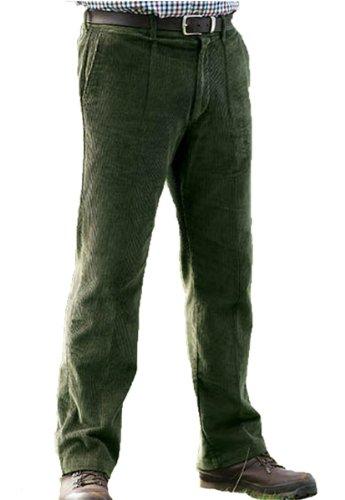Champion Pantalon-plissé-Basic-Homme vert olive