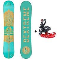 Bextreme Snowboard Diamond + Fijaciones SP (157cm)
