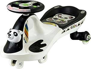 Panda Goyal's Baby Wheel Magic Toy Car - Black And White
