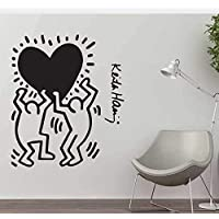 Adesivi Murali Keith Haring.Amazon It Haring Keith Adesivi E Murali Da Parete Pitture E