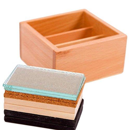 hibote Judement Training, Sensorische mit Temperatur-Board, Montessori Pädagogisches Holzspielzeug