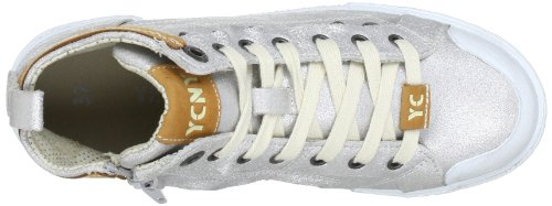 Yellow Cab Boogie Y25058, Sneaker donna Argento (Silber (Silver))
