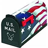Flambeau 6530US Scenic Decor Serie Mailbox, American Flagge USA