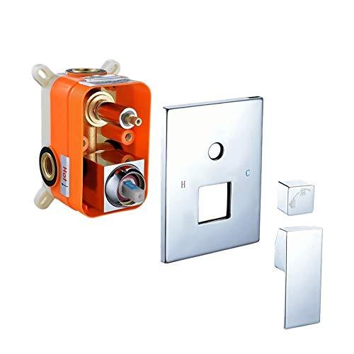S R Sunrise GM0043 - Mezclador multifunción para bañera y ducha en...