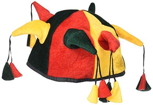 Verrückt Hut Kostüm - amscan-7367-Hut verrückt des König-Accessoire
