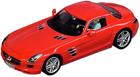 Carrera 20027344 - Mercedes SLS AMG Coupe, rot