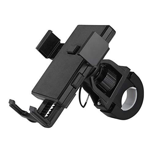 funnyfeng Fahrrad Handyhalter aus Gute Qualität ABS Kunststoff Universal Motorrad Handy Halterung für 3,5-6,5 Zoll Smartphone mit 360° Drehbar und Silikon Aufprallschutz Aufkleber Exceptional Jack Box 6 Position