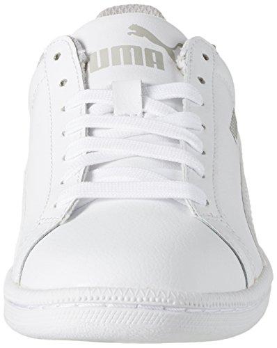 Puma Smash Fun L, Baskets Basses Garçon Blanc (White)
