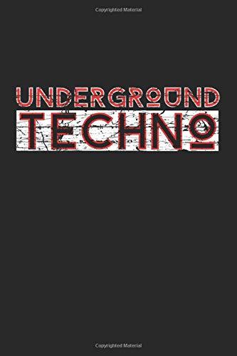 Underground Techno: Kalender 2020 (Jahres, Monats und Wochenplaner) DIN A5 - 120 Seiten