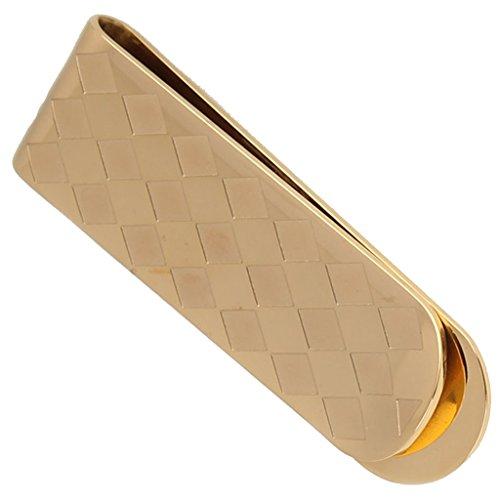 mens-slim-money-clip-wallet-stainless-steel-rhombus-form-design-golden-card-holder-155cm-by-aienid