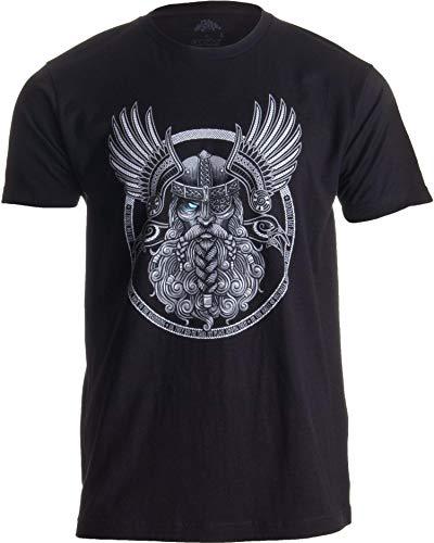 Ann Arbor T-shirt Co. Motivo Vikingo para Amantes de la mitología nórdica -...