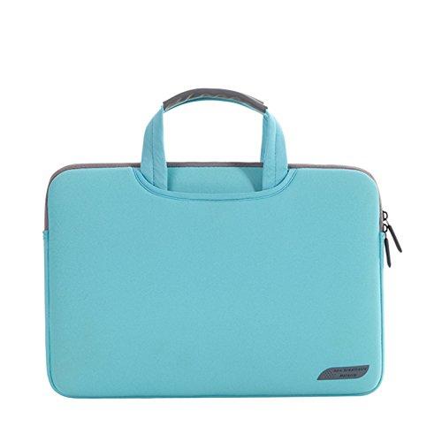 Sea Chance Wasserresistente Lycra Hülle Sleeve Tasche für 13-13,3 Zoll MacBook Pro/ Laptop Tasche / Schutzhülle / MacBook Tasche / Netbook Tasche / MacBook Air 13 / Pro Retina (Blau) Blaue Mac Laptop