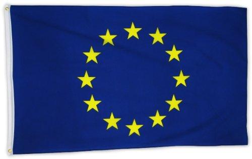Flaggenking bandiera dell'europa, 90 x 150 cm