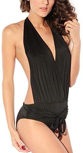 sunifsnow-women-black-one-piece-sexy-halter-convertible-wrap-folds-of-bikini-m