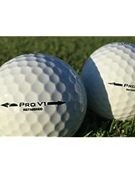 50 x Titleist Pro V1 balles de golf de gamme premium - grade perle