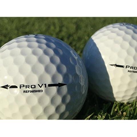 50 x Titleist Pro V1 palle premium / refinished - pearl grade