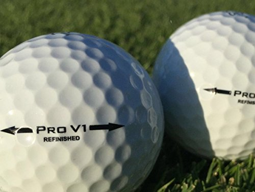 25 X TITLEIST PRO V1 PREMIUM GOLF BALLS - REFINISHED  PEARL/MINT GRADE