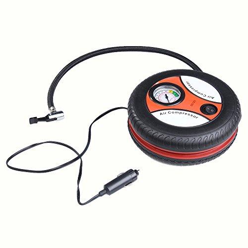 Anano Mini compresseur dair pour Voiture portatif 12V Auto Inflatable Pumps Electric Tire Inflators 260psi