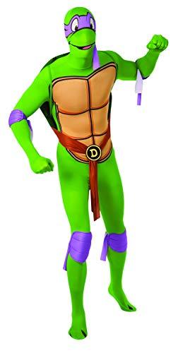 Generique - Michelangelo Ninja Turtles Kostüm für Erwachsene - zweite Haut