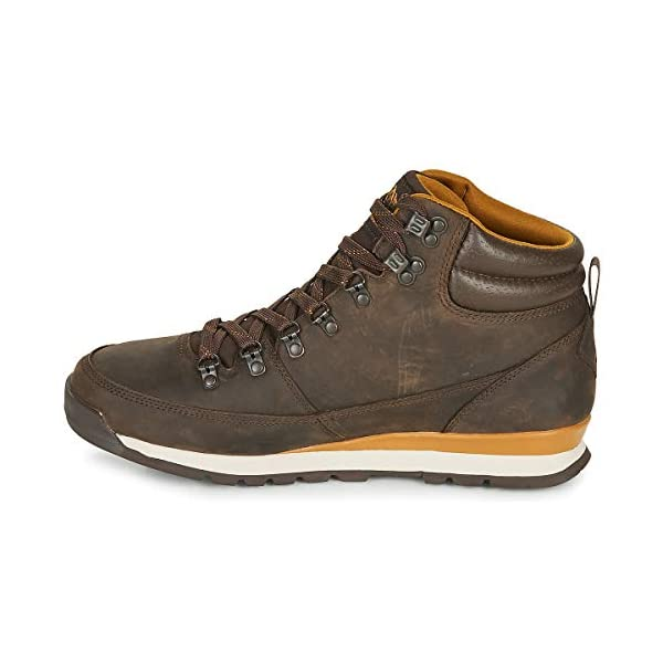 THE NORTH FACE Men's Back-to-Berkeley Redux Leather High Rise Hiking Boots 4