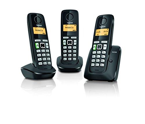 Gigaset A220 Trio - Telefono inalambrico