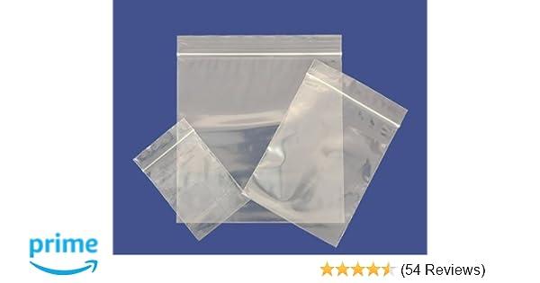 "100 Grip Seal Resealable Bags GL17 15/"" x 20/"""