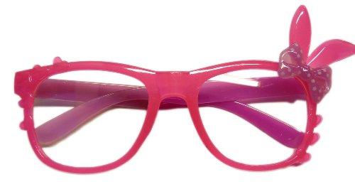 Bunny Nerdbrille Wayfarer Brille Pantobrille Sonnenbrille ,,ROSA LILA,