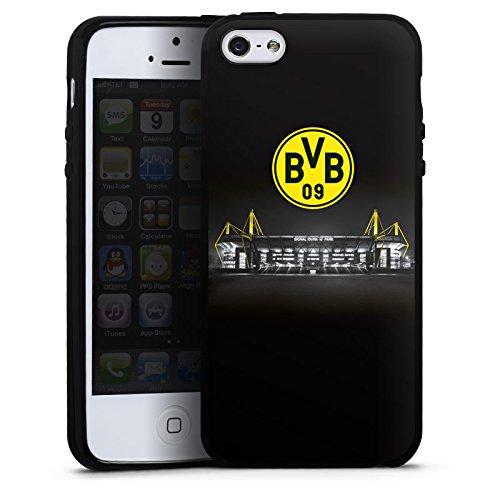 Apple iPhone 5s Silikon Hülle Case Schutzhülle Borussia Dortmund BVB Stadion