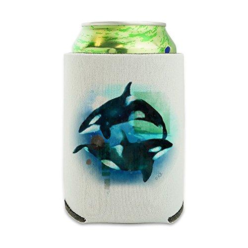 tercolor Yin Yang können Kühler–Drink Sleeve Hugger klappbar Isolator–Isolierter Getränkehalter (Schaumstoff-koozies)