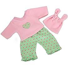 Puppenbekleidung Chou Chou Puppenkleidung Gr.48 Kleidung für Puppen Kleidung & Accessoires