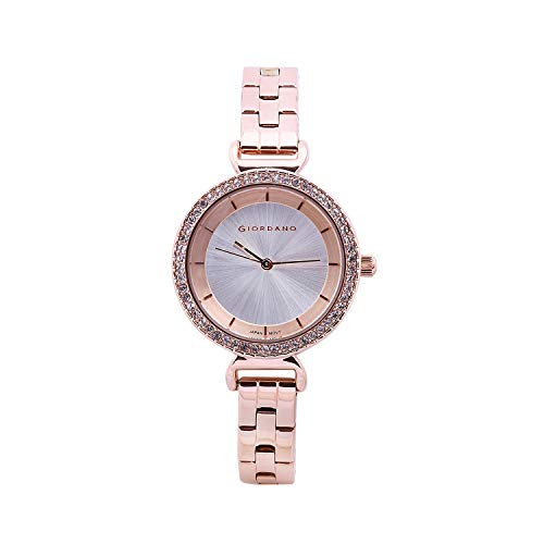 Giordano Analog Silver Dial Women's Watch