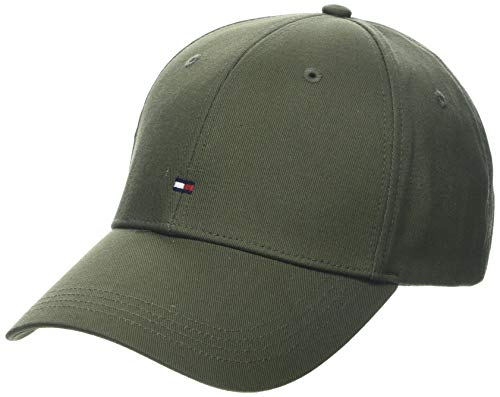 Tommy Hilfiger BB Cap Casquette De Baseball, (Green Lfh), Unique (Taille Fabricant: OS) Homm