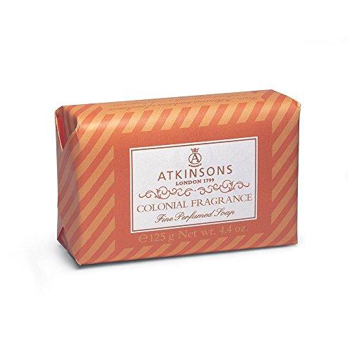 Atkinson - colonial fragrance, sapone profumato - 125 g - [pacco da 9]