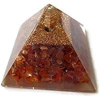 Karneol Edelstein Pyramide, Reiki Healing Edelstein Chakra Pyramide, spirituelle Energetische Pyramide mit Bergkristall-Point... preisvergleich bei billige-tabletten.eu