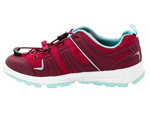 VAUDE Kids Leeway Ii, Chaussures Multisport Outdoor fille Rose - Pink (201 grenadine)