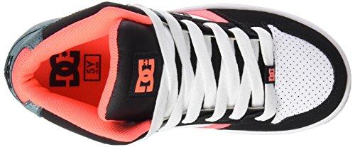 DC APPAREL Mädchen Rebound Sneaker Noir (Kmw)