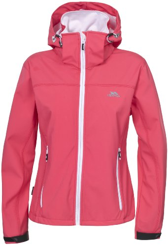 Trespass Women's Softshell Jacke Abelia (Jacket Ski) Rosa - Coral Blush