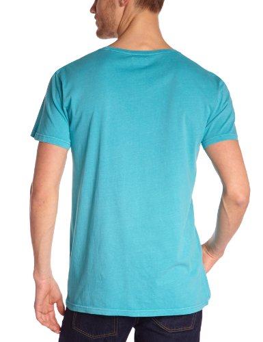 Cheap Monday Herren T-Shirts Blau (Turquoise)