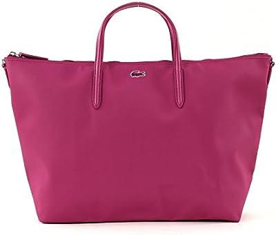 LACOSTE L.12.12 Concept SStrap L Shopping Bag Festival Fuchsia