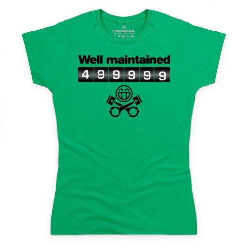 Well Maintained T-Shirt, Damen Keltisch-Grn