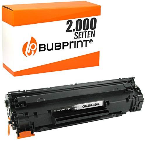 Nero, 2-Pack Fimpex Compatibile Toner Cartuccia Sostituzione per HP LaserJet P1005 P1006 P1007 P1008 P1009 CB435A
