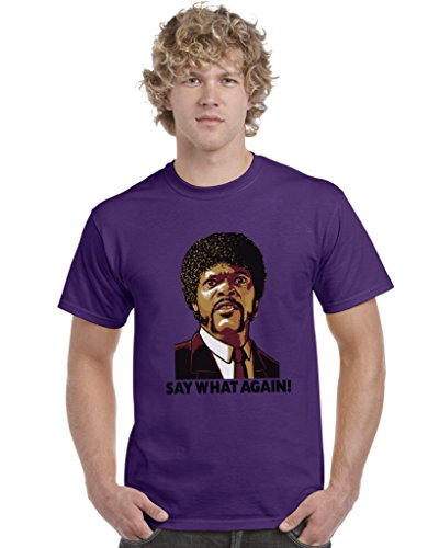 Say What Again Pulp Fiction Inspired Unisex T-Shirt Tee Top