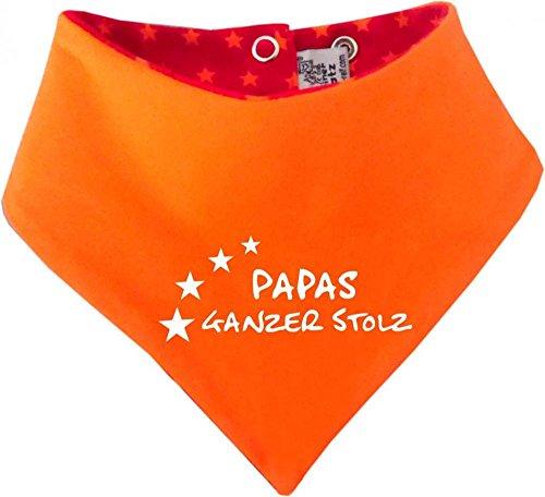 Évolue bébé et enfant-foulard réversible avec étoiles papas toute fierté/in designs/4 tailles 36 mois - Rouge - 9 mois