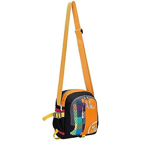 A new day-Tasche all'aperto sport all'aperto multi - funzionale borsa a tracolla uomini e donne viaggiano zaino spalla bag°ü , yellow , 12